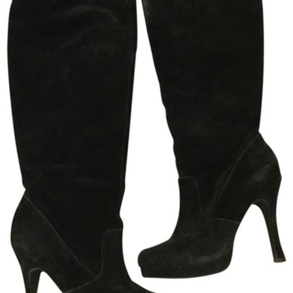 BCBGeneration Shoes | Bcbg Black Suede
